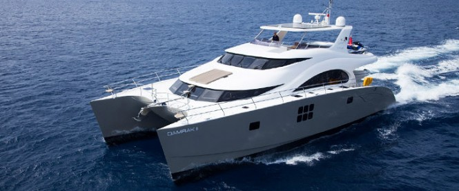 Sunreef 70 Power yacht Damrak II