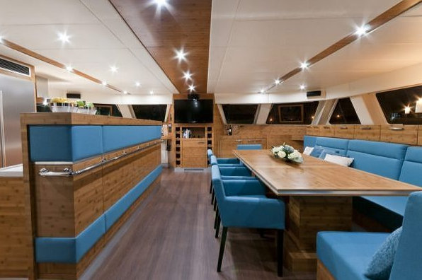 Sunreef 70 luxury yacht ANINI Interior