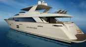 Superyacht 100 Raised Pilothouse by Hatteras Yachts