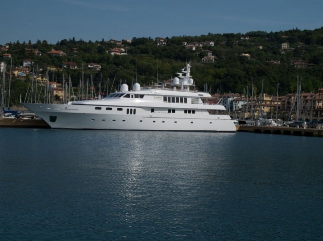 Superyacht at Porto San Rocco