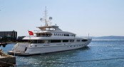 The newly launched Egeria superyacht by Egeria Yachts