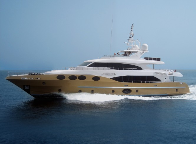 The second superyacht Majesty 125 by Gulf Craft