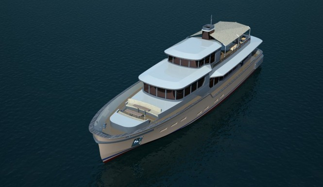 Yurek designed Castle superyacht
