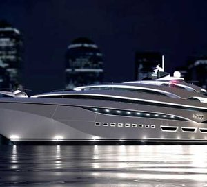 128m motor yacht PRIVILEGE ONE under construction at Privilege yard