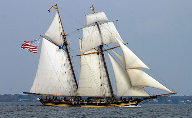 157ft sailing yacht Pride of Baltimore II