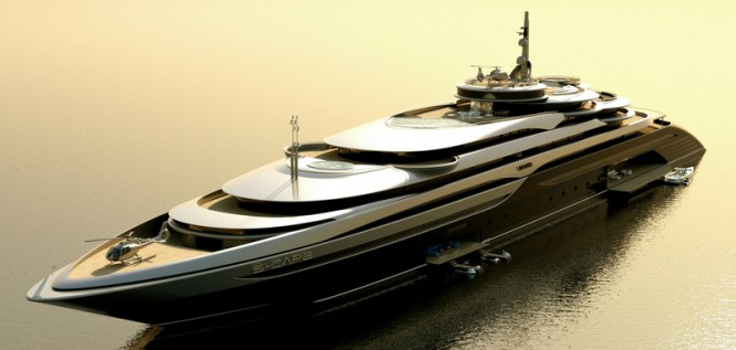 160m superyacht S-Cape by Laraki Yacht Design