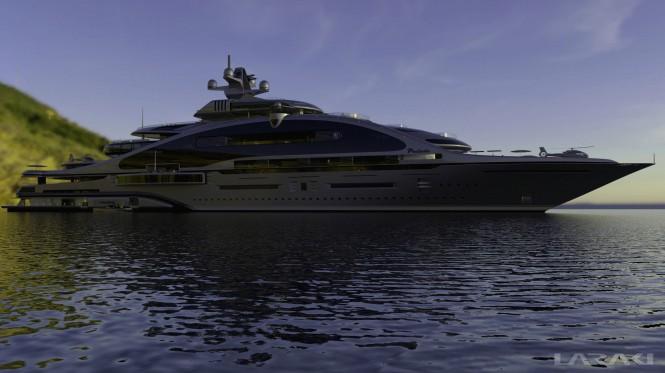 163m megayacht Prelude by Laraki Yacht Design