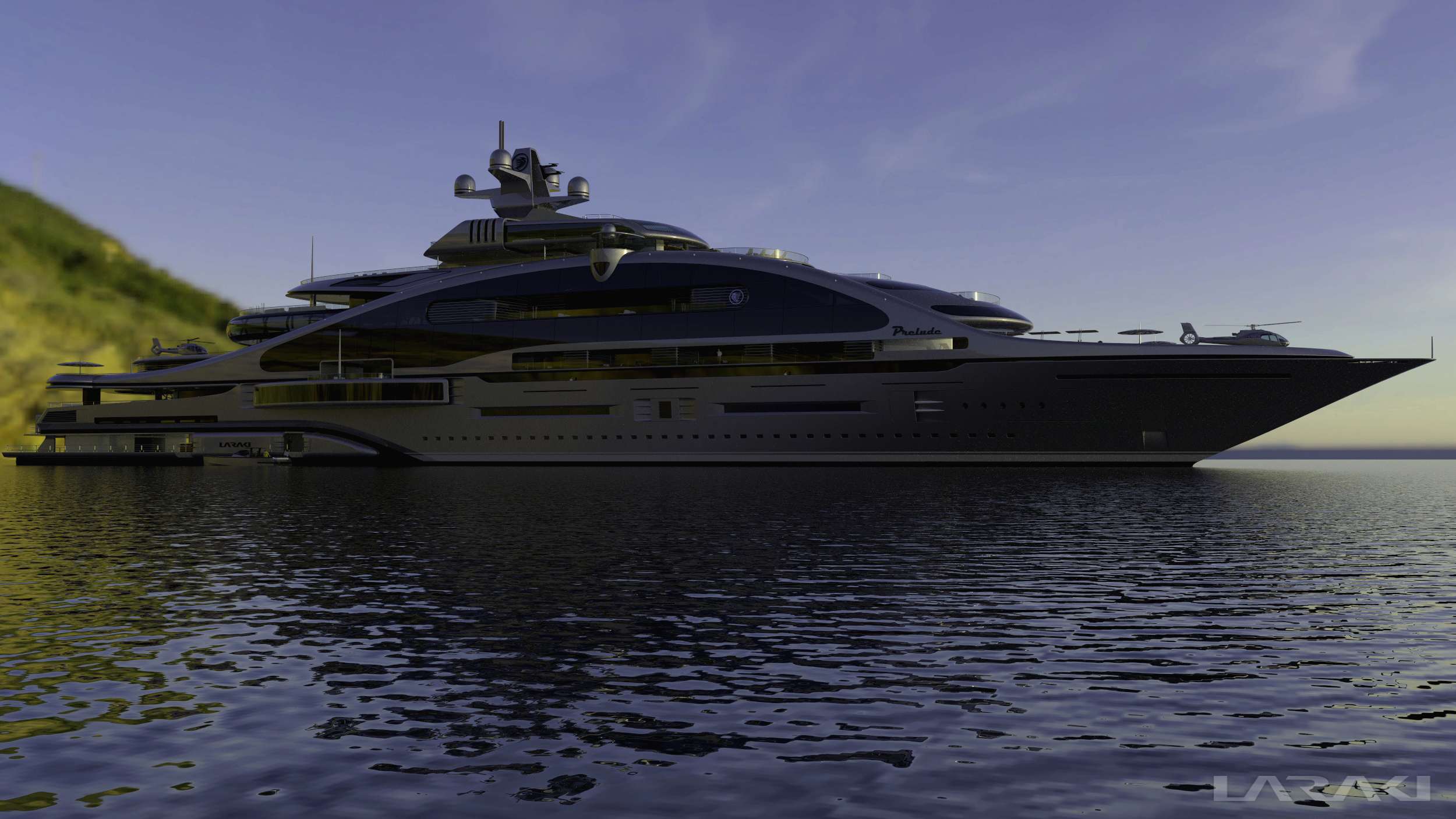 This Is Very Useful What I Am Hoping Is That The Circlar Bumper - Giga yacht takes luxury oil tanker sized extreme