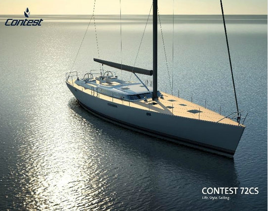 22m luxury yacht Contest 72CS by Contest Yachts