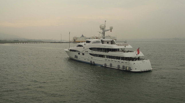 231ft luxury yacht Nourah of Riyad