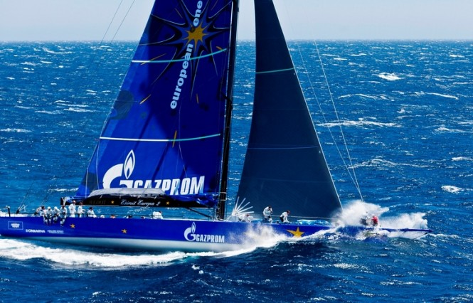 30-metre sailing yacht Esimit Europa 2