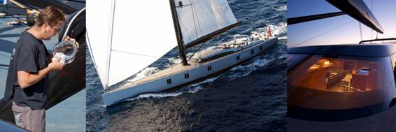 42m Vitters luxury sailing yacht Sarissa boasting special LED lights by Piet Brouwer Electrotechnology