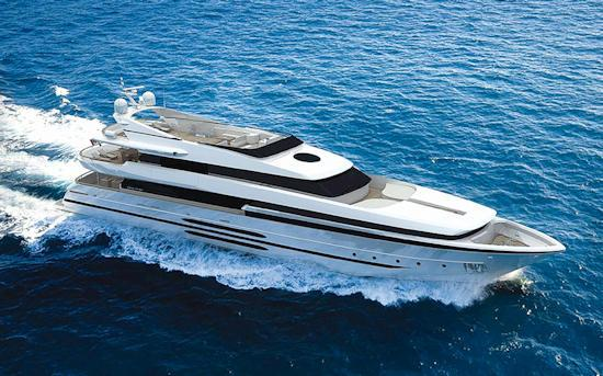 47m luxury motor yacht Project 12 by Cantieri di Pisa