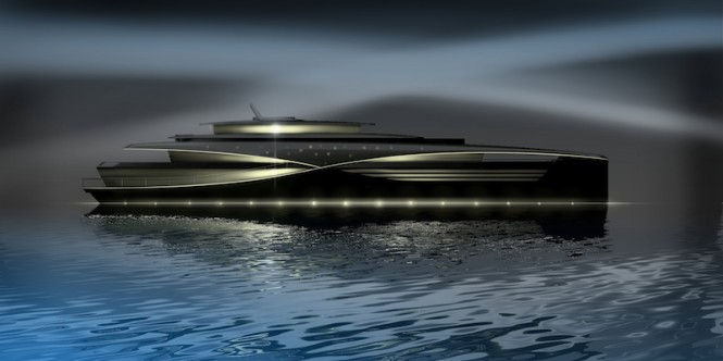 56m Feadship motor yacht Qi concept