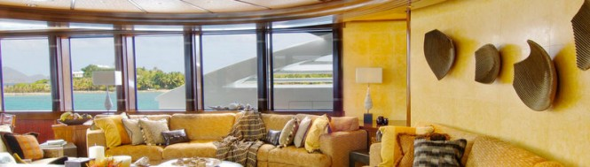 68m luxury yacht Kismet - Interior