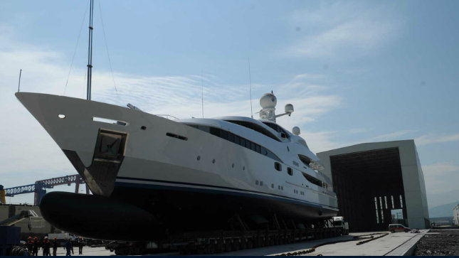 70m superyacht Nourah of Riyad re-launched by Yachtley