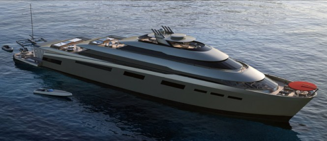 99m luxury yacht Xvintage by Fincantieri and Pastrovich