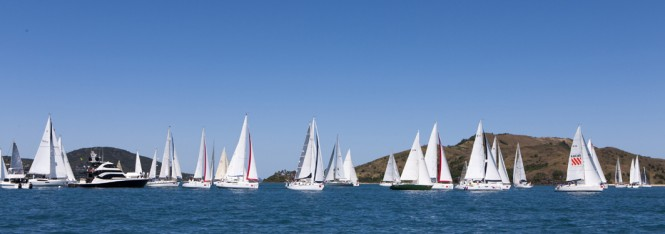 Audi Hamilton Island Race Week 2012 Start - Photo Credit: Andrea Francolini/AudiFLEET