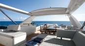 Azimut 88 superyacht - Flybridge