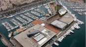 Barcelona International Boat Show - Aerial View