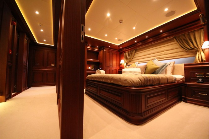 Bilgin 160 Classic M&M superyacht - Master Cabin