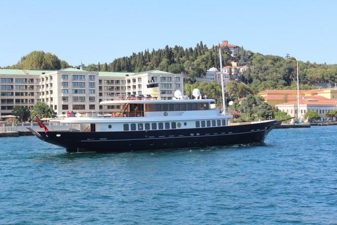 Bilgin 160 Classic superyacht M&M