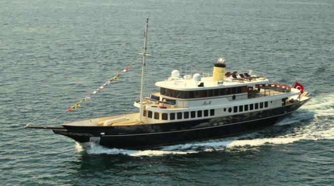 Bilgin Classic 160' motor yacht M&M