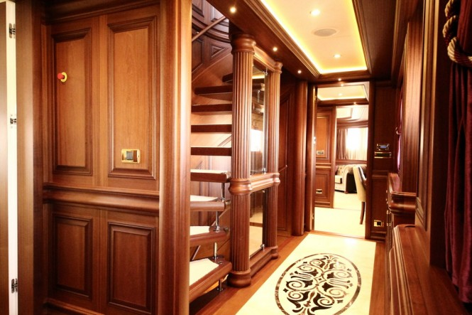 Bilgin motor yacht M&amp;M - Luxurious Interior