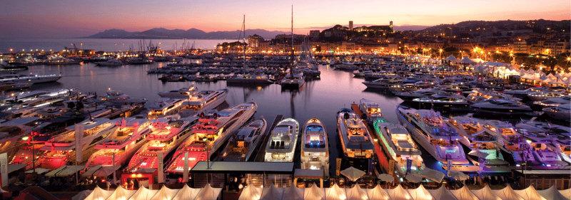 cannes boat show after sunset yacht charter superyacht news. Black Bedroom Furniture Sets. Home Design Ideas