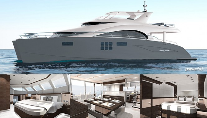 Catamaran Power 60 by Sunreef
