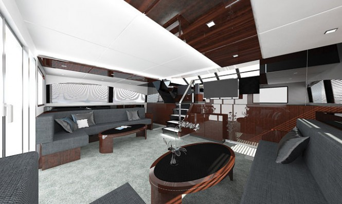 Catamatan yacht 85 Sunreef Power - Interior