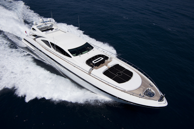 Charter yacht ABILITY (ex Solomia) -  a Mangusta 130 superyacht