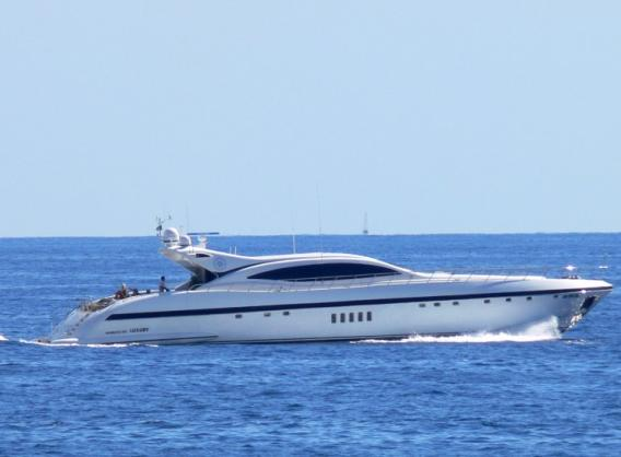 Charter yacht ARES - a Mangusta 108 superyacht