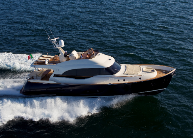 Dolphin 74 Cruiser yacht by Mochi Craft - Photo Credit Ferretti Group