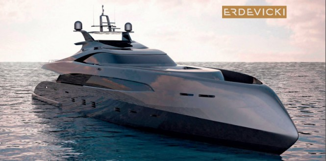 ER175 superyacht by Erdevicki and ICON Yacht