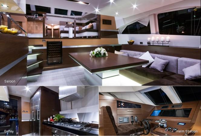 EWHALA yacht - Interior