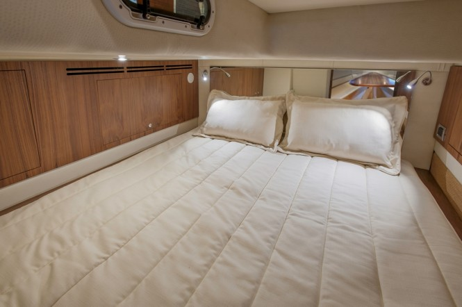 European edition of the 36 Corsair yacht tender - Bunk room