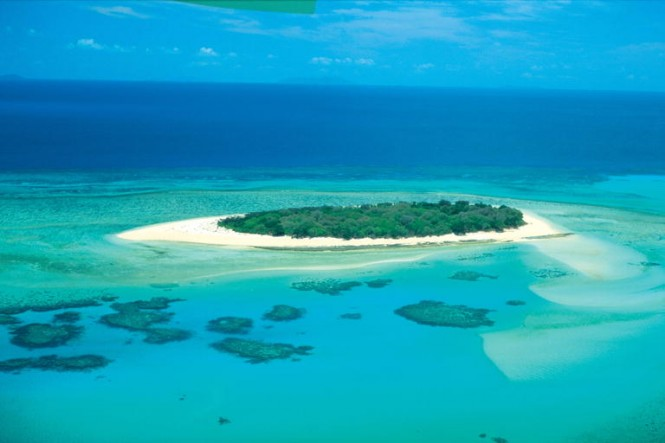Great Barrier Reef - one of the most fabulous yacht charter destinations in Australia