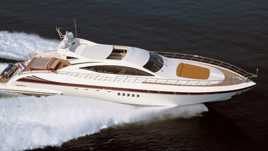 Illusion superyacht - a Mangusta 92 yacht