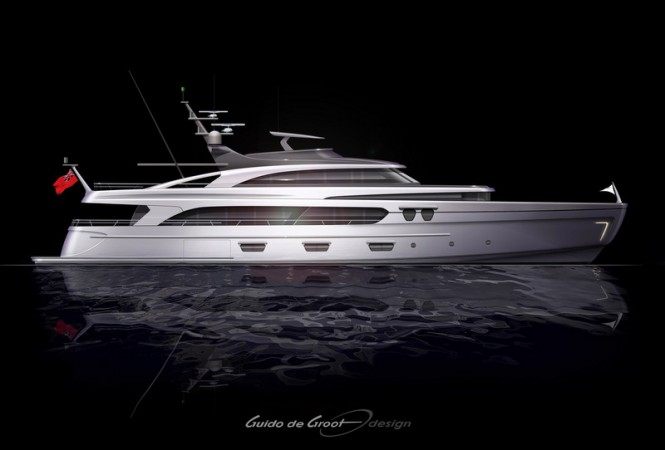 Intec Marine 140 Hybrid superyacht