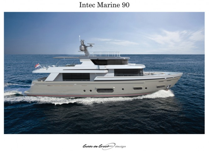 Intec Marine 90 Hybrid yacht