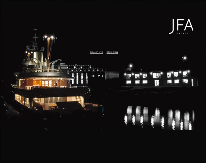 JFA Yachts - New website - Homepage
