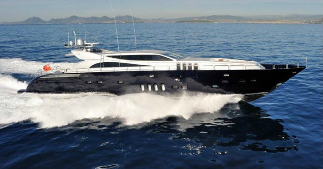 Leopard 34 superyacht - Image courtesy of Leopard Yachts