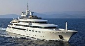 Luxury charter yacht OMEGA