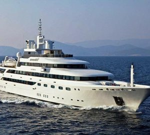 82m Luxury Charter Yacht O'MEGA Eastern Mediterranean Special
