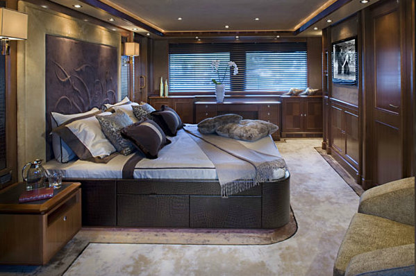 Luxury charter yacht Sofico - Master Suite