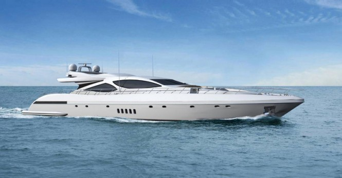 Luxury motor yacht Mangusta 110 by Overmarine Group Mangusta