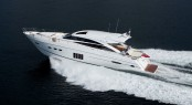 Luxury motor yacht V72 by Princess Yachts