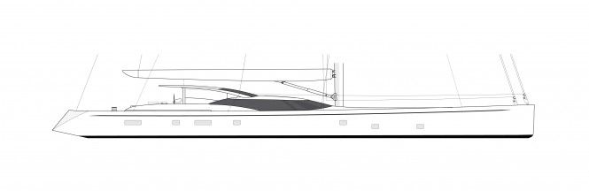 Luxury sailing yacht Project FY17 by Fitzroy Yachts