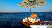 Luxury superyacht O&#039;MEGA - Swim Platform